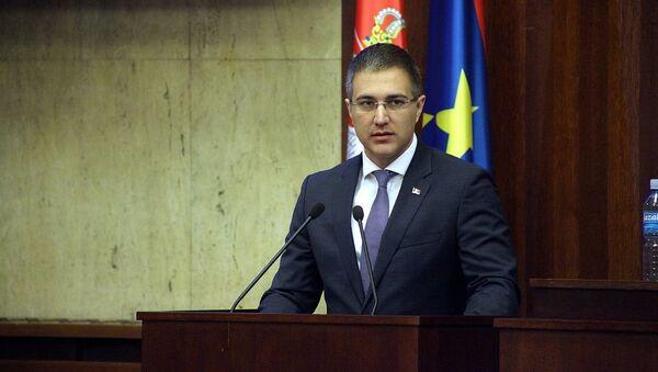 Nebojsa Stefanovic in Parliament of Vojvodina (File) - Sputnik International