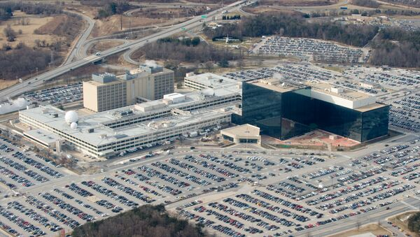 The National Security Agency (NSA) headquarters at Fort Meade, Maryland. - Sputnik International