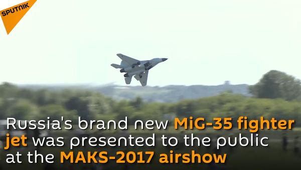 Meet Russia's Brand New MiG-35 Fighter Jet - Sputnik International