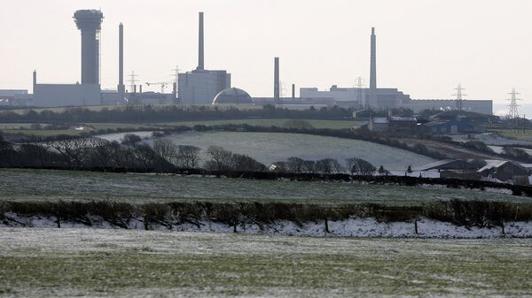 A general view of the Sellafield nuclear power plant in Seascale, northern England, Monday, Feb. 2, 2009.  - Sputnik International