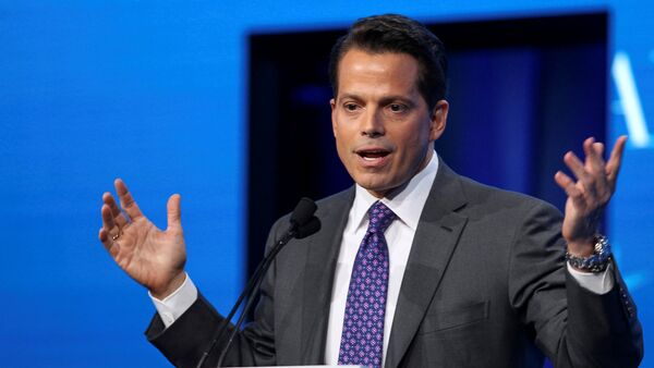 Anthony Scaramucci, Founder and Co-Managing Partner at SkyBridge Capital, speaks during the opening remarks during the SALT conference in Las Vegas, Nevada, U.S. on May 17, 2017. - Sputnik International