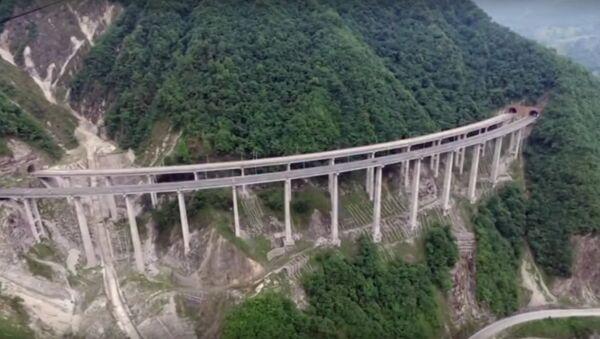 Check Out The World's Longest Concrete Tubular Bridge - Sputnik International
