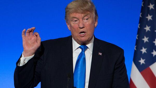 US President Donald Trump (File) - Sputnik International