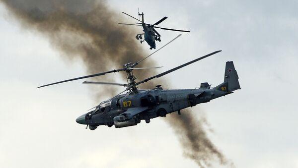 Ka-52  Alligator  attack helicopter  (File) - Sputnik International