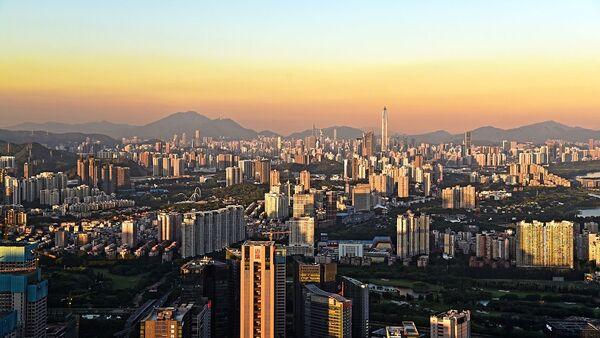 Shenzhen Skyline from Nanshan - Sputnik International
