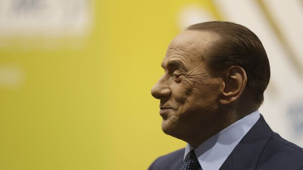 Former Italian premier Silvio Berlusconi attends the Seeds&Chips - Global Food Innovation summit, in Milan, Italy, Monday, May 8, 2017. United States former President Barack Obama will speak at the summit Tuesday. - Sputnik International