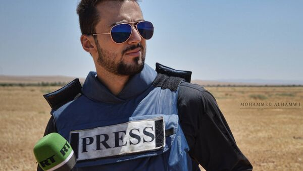RT reporter Khaled G. AlKhateb - Sputnik International