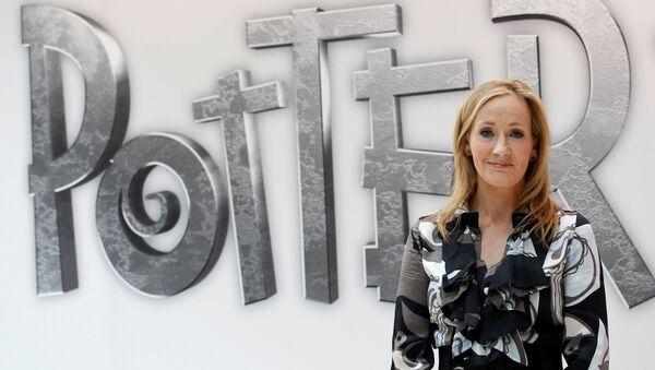 British author JK Rowling, creator of the Harry Potter series of books (File) - Sputnik International