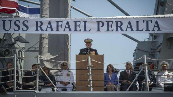 USS Rafael Peralta - Sputnik International