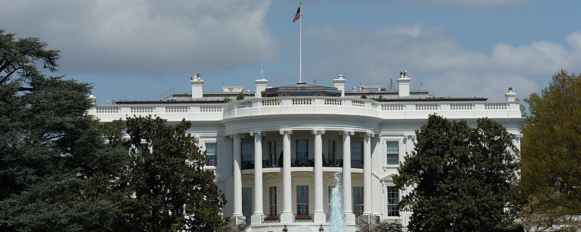 Official residence of the U.S. President, the White House in Washington D.C. - Sputnik International, 1920