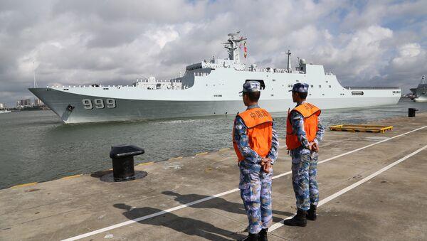China Djibouti Military Base - Sputnik International