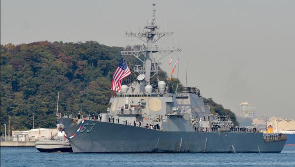 File Photo of the USS Stetham - Sputnik International
