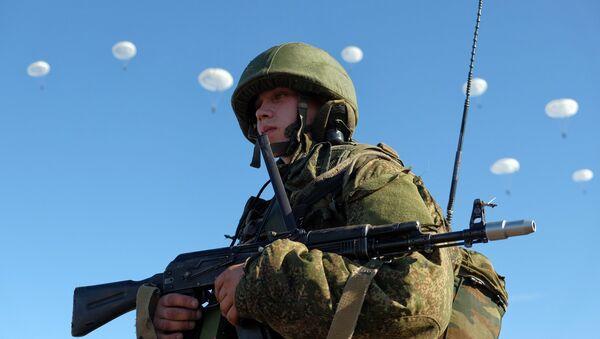 Airborne Forces drill in Ulyanovsk Region - Sputnik International