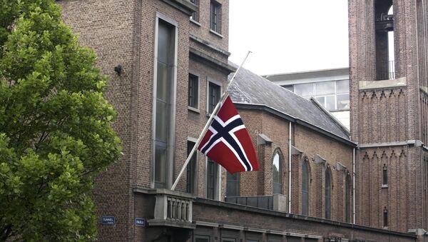 Norwegian flag. (File) - Sputnik International