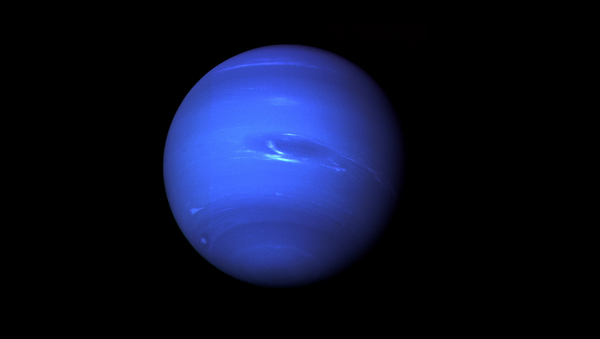 Neptune, the Eighth Planet from the Sun, Nicknamed The Windy Planet for its winds that can surpass 1,100 mph. - Sputnik International