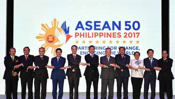Opening ceremony of the 50th Association of Southeast Asian Nations (ASEAN) Regional Forum - Sputnik International