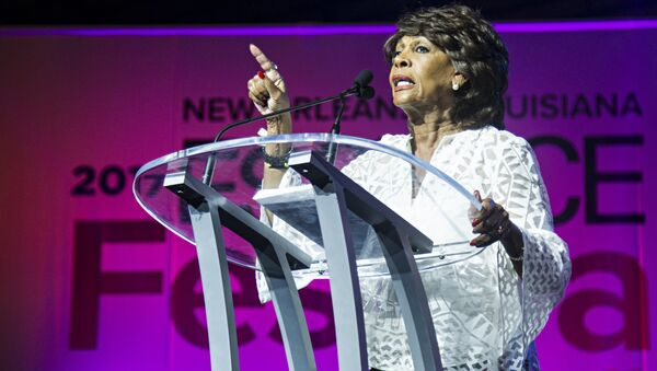 Congresswoman Maxine Waters seen at the ESSENCE Empowerment Experience at Ernest N. Morial Convention Center on Saturday, July 1, 2017, in New Orleans - Sputnik International