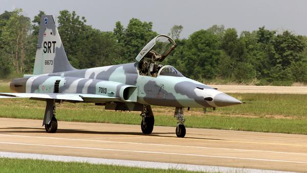 File Photo of F-5E Royal Thai Air Force jet - Sputnik International