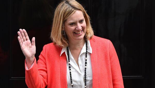 UK Home Secretary Amber Rudd - Sputnik International