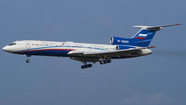 Tu-154M-Lk-1 Russian Air Force (Open Skies) - Sputnik International