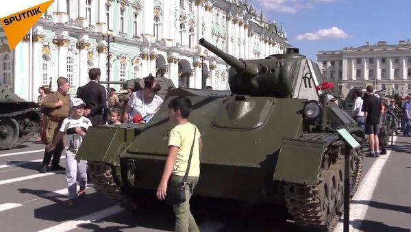 Tanks In Saint Petersburg - Sputnik International