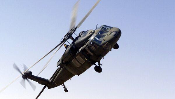 UH-60 Blackhawk helicopter of the Saudi-led Arab coalition. (File) - Sputnik International