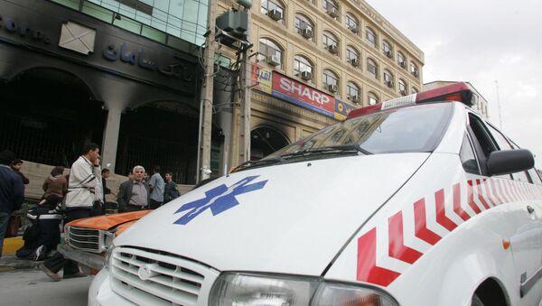 Iranian ambulance. (File) - Sputnik International