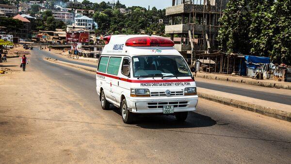 Sierra Leone ambulance. (File) - Sputnik International
