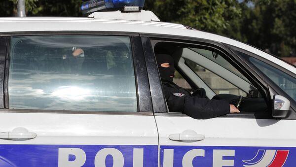 French Police Car - Sputnik International