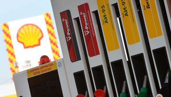 Shell gas station in Tatarstan. File photo - Sputnik International