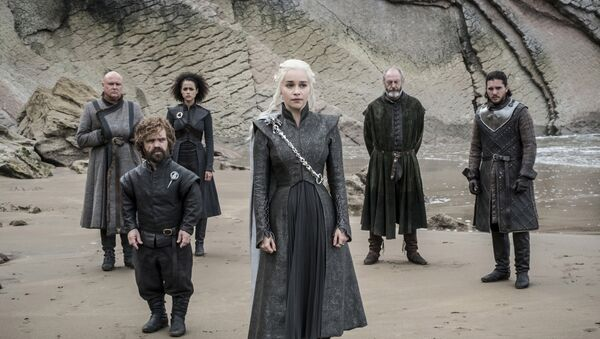 This image released by HBO shows a scene from an episode of Game of Thrones, which aired Sunday, Aug. 6, 2017 - Sputnik International