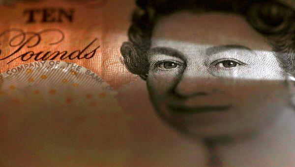 An English ten Pound note is seen in an illustration taken March 16, 2016 - Sputnik International