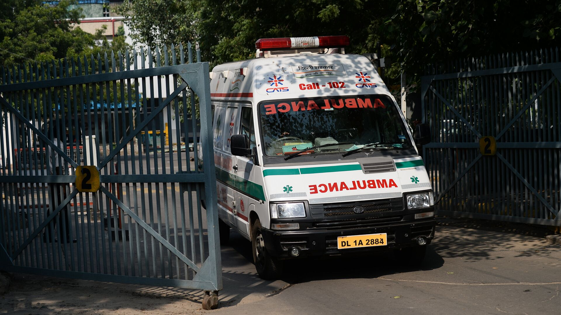 India Ambulance - Sputnik International, 1920, 28.07.2021