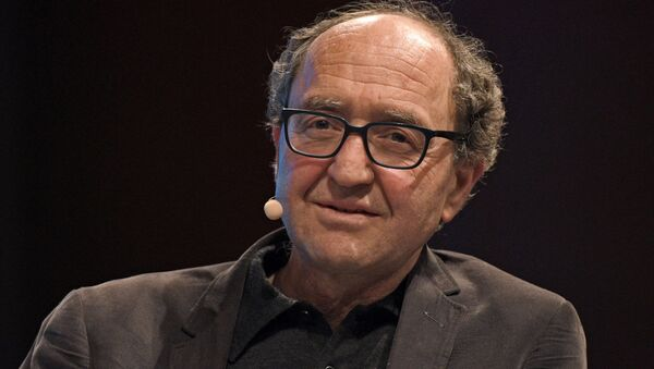 German autor of Turkish origin Dogan Akhanli taking part in a panel discussion during the Literature festival in Cologne, western Germany. (File) - Sputnik International