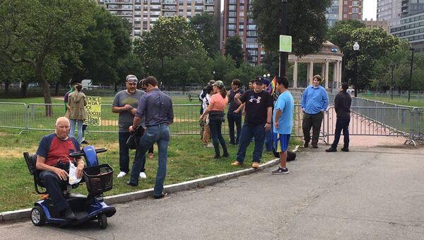 Protests in Boston - Sputnik International