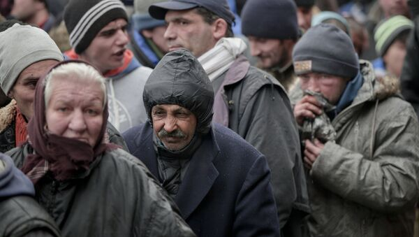 Homeless people. (File) - Sputnik International