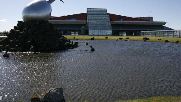 A general view of the exterior of Keflavik airport, Keflavik, Iceland  - Sputnik International