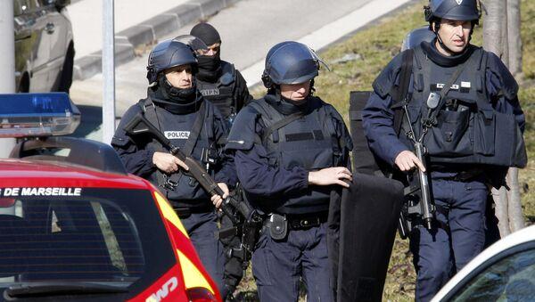 Police officers in Marseille, southern France. - Sputnik International