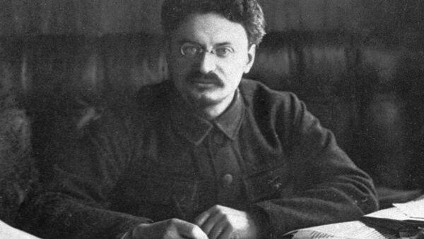 Lev Trotsky, a prominent politician (1879-1840). (File) - Sputnik International