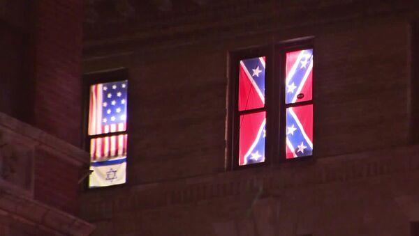 New York Apartment Confederate Flags - Sputnik International