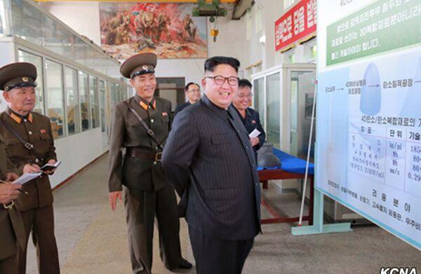 North Korean leader Kim Jong - Sputnik International