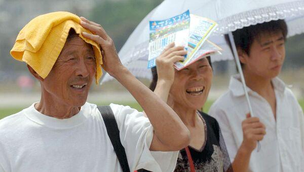 China Heat Wave - Sputnik International