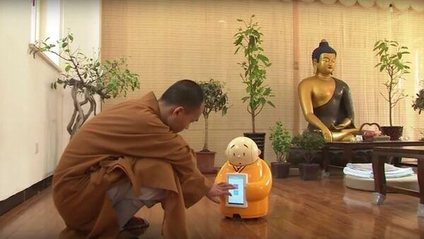 Robot Monk - Sputnik International