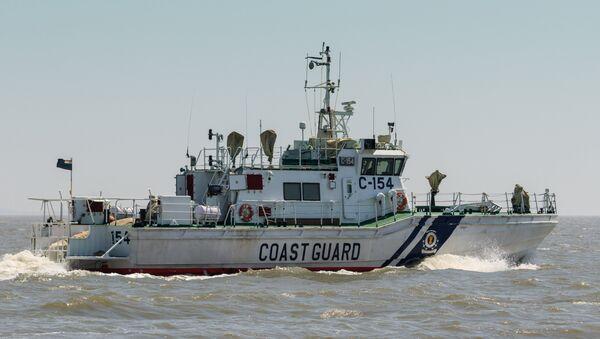 Interceptor boat of the Indian Coast Guard - Sputnik International