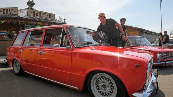 Second Russian nationwide Zhiguli car festival, Zhi-Fest - Sputnik International