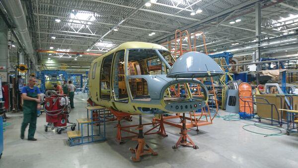 Kazan Helicopter plant - Sputnik International