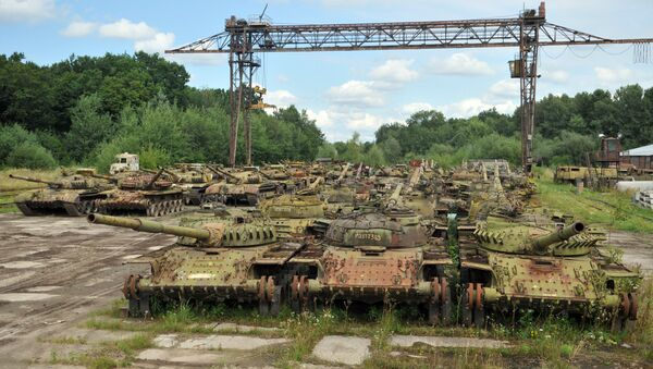 Armored vehicle plant in Lvov Region - Sputnik International