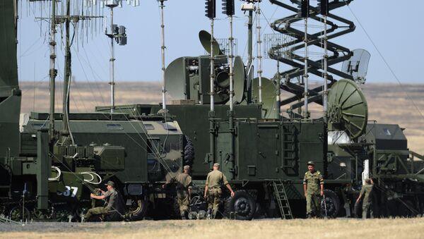 Military equipment is readied for International Military-Technical Forum ARMY-2017 in Rostov region - Sputnik International