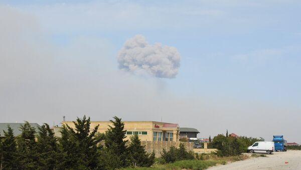 Arms Storage Blast in Azerbaijan's Khizi District - Sputnik International