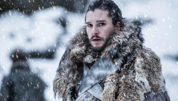 Kit Harington portrays Jon Snow in a scene from the seventh season of HBO's Game of Thrones. - Sputnik International